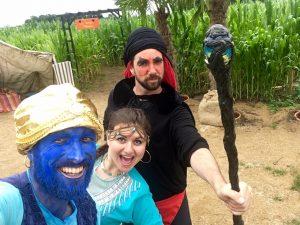 Le Labyrinthe de Pont-Aven et sa ferme : Sur les traces d'Aladdin
