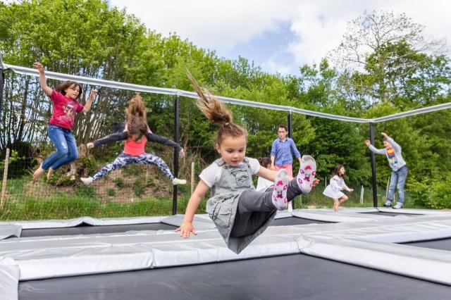 les trampolines parc de loisirs enfants finistère les jeux