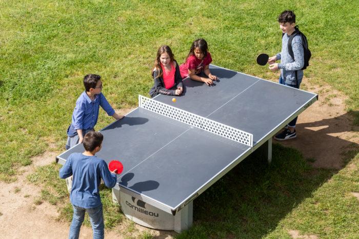 table de ping pong parc de loisirs et aire de jeux finistère